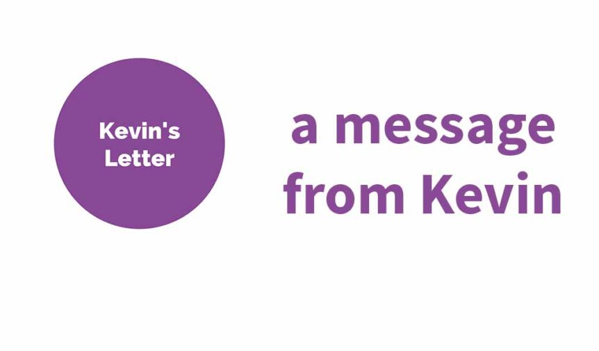 A message from Kevin – July '19 | FEBC Australia