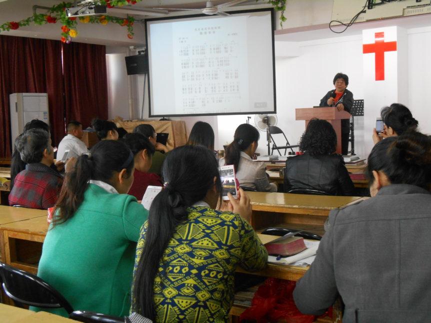 China_Sharing in churches