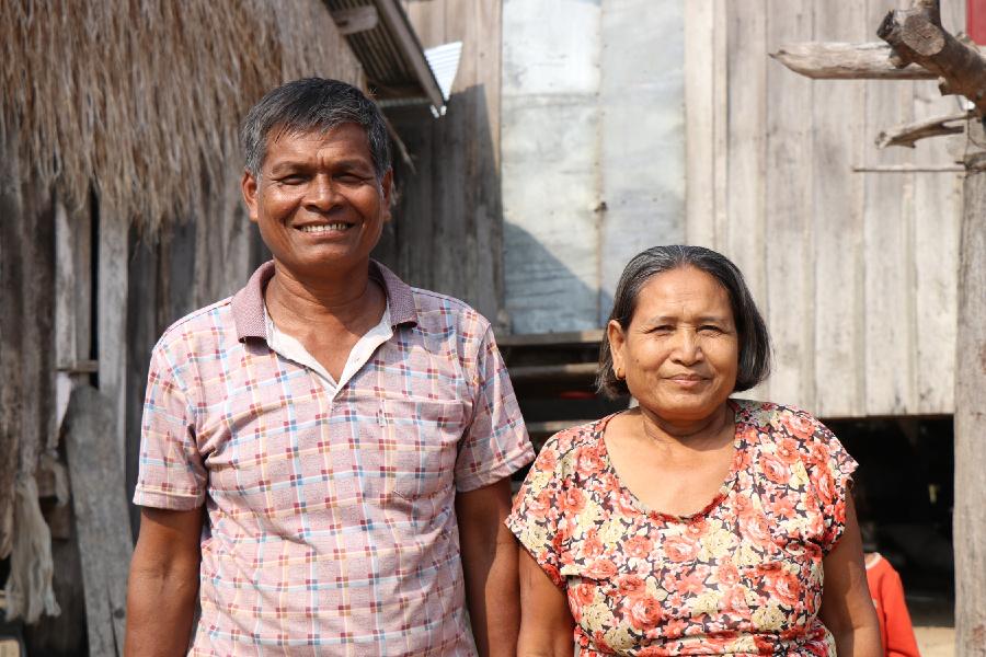 Pastor Osien Pho Pon and Wife - Kampong Chhnang, Cambodia
